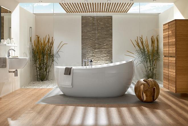 Những mẫu bồn tắm dưới đây sẽ giúp nhà tắm tỏa sáng bất ngờ - Ảnh 8.