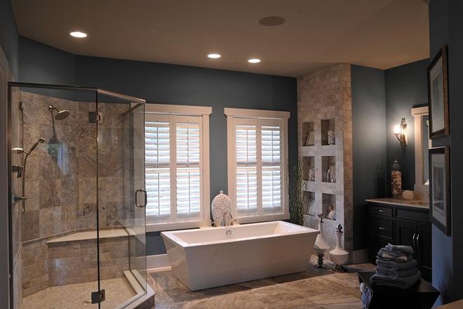 Những mẫu bồn tắm dưới đây sẽ giúp nhà tắm tỏa sáng bất ngờ - Ảnh 10.