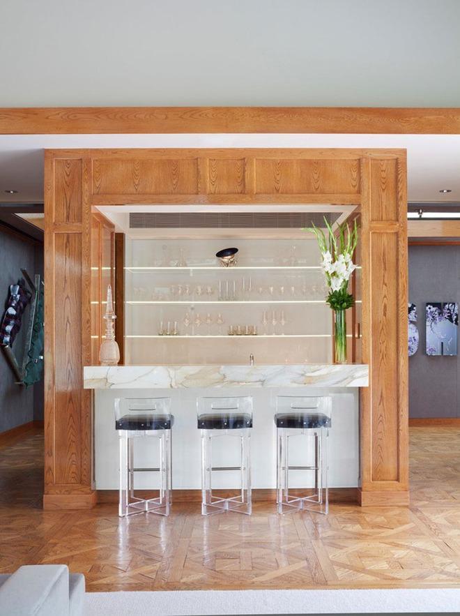 Những mẫu quầy bar chất lừ mà bạn có thể tự thiết kế ngay trong không gian sống của mình - Ảnh 3.
