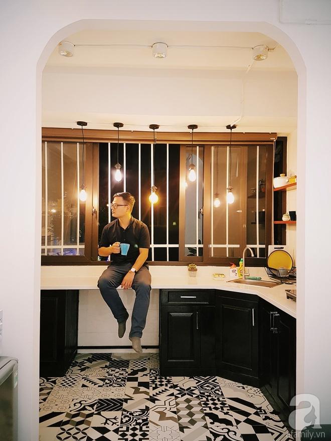Căn hộ 28m² nhỏ xinh trên phố cổ Hà Nội đẹp bình yên với sắc màu Vintage của chàng trai 34 tuổi - Ảnh 3.