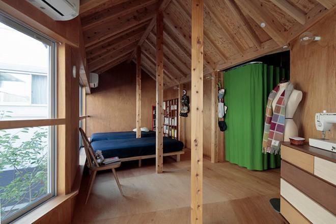 Ngôi nhà hai tầng đẹp lạ lùng được thiết kế theo phong cách tối giản nhìn xa như một cây nấm nhỏ ở Nhật - Ảnh 8.