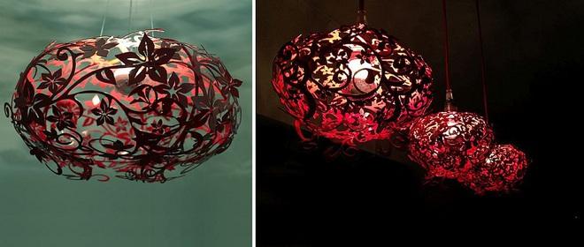 Những mẫu đèn trang trí cực đẹp khiến ai xem xong cũng muốn sở hữu một cái trong nhà - Ảnh 6.