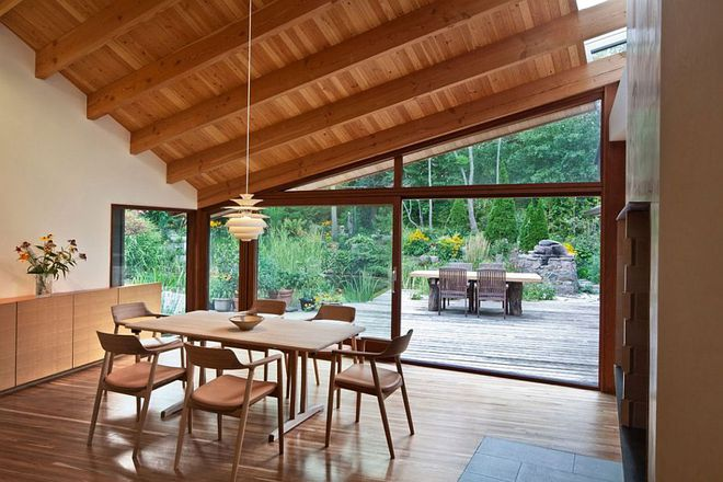 Lấy chủ đề là gỗ với không gian sống mở hoàn toàn với thiên nhiên, đây chính là ngôi nhà mà ai cũng ao ước - Ảnh 3.