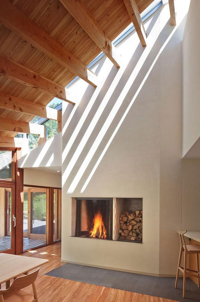 Lấy chủ đề là gỗ với không gian sống mở hoàn toàn với thiên nhiên, đây chính là ngôi nhà mà ai cũng ao ước - Ảnh 6.