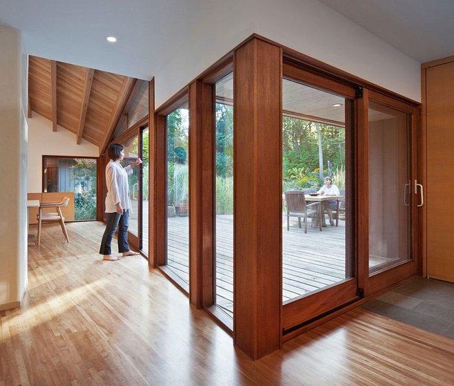 Lấy chủ đề là gỗ với không gian sống mở hoàn toàn với thiên nhiên, đây chính là ngôi nhà mà ai cũng ao ước - Ảnh 7.