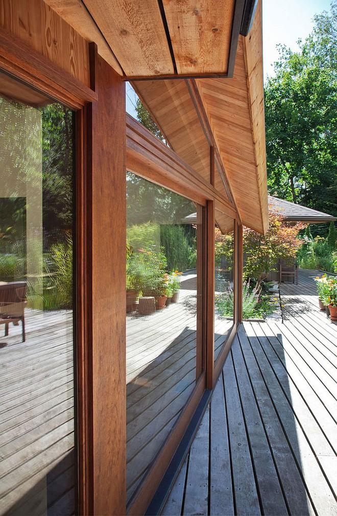 Lấy chủ đề là gỗ với không gian sống mở hoàn toàn với thiên nhiên, đây chính là ngôi nhà mà ai cũng ao ước - Ảnh 11.