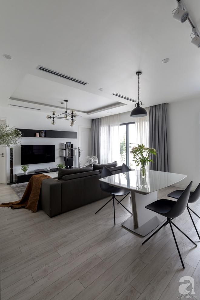 Căn hộ đen trắng 100m² đẹp như nhà trên báo nước ngoài với tổng chi phí 850 triệu đồng ở Thanh Xuân, Hà Nội - Ảnh 5.