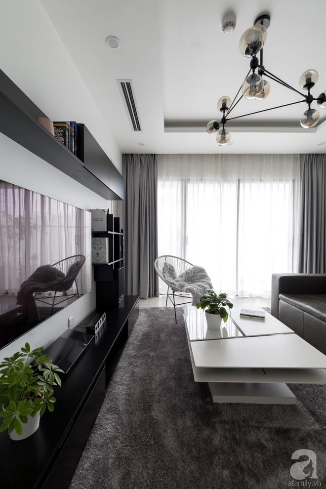 Căn hộ đen trắng 100m² đẹp như nhà trên báo nước ngoài với tổng chi phí 850 triệu đồng ở Thanh Xuân, Hà Nội - Ảnh 9.