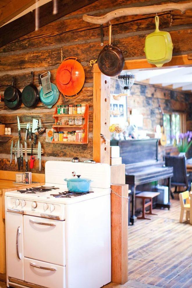 Đây là những căn bếp đủ sức khiến bạn đắm chìm cả ngày trong đó - Ảnh 1.