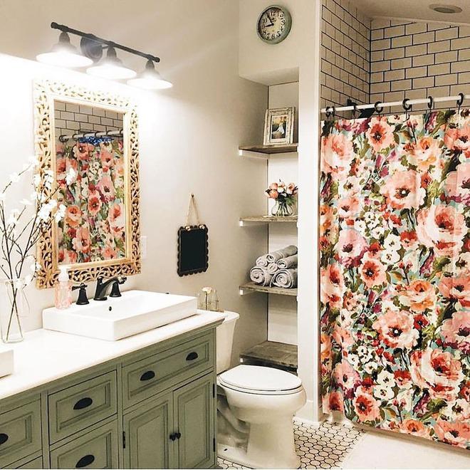 Có thể bạn không tin nhưng phong cách Bohemian cũng hợp với phòng tắm lắm đấy - Ảnh 6.