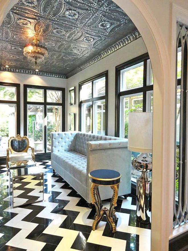 Choáng ngợp trước vẻ đẹp sang chảnh của những phòng khách mang phong cách Baroque - Ảnh 2.