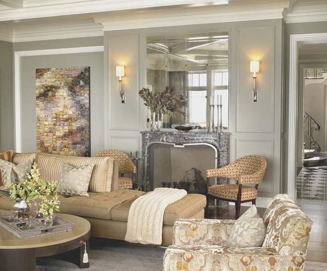 Choáng ngợp trước vẻ đẹp sang chảnh của những phòng khách mang phong cách Baroque - Ảnh 5.