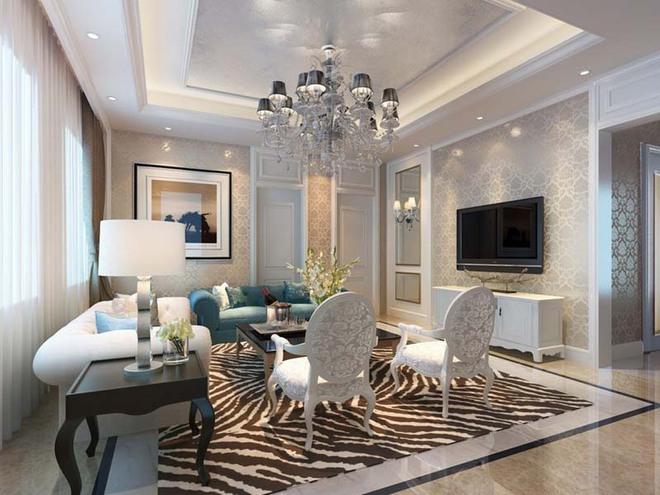 Choáng ngợp trước vẻ đẹp sang chảnh của những phòng khách mang phong cách Baroque - Ảnh 6.