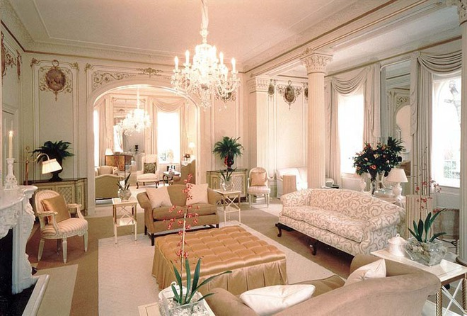 Choáng ngợp trước vẻ đẹp sang chảnh của những phòng khách mang phong cách Baroque - Ảnh 7.