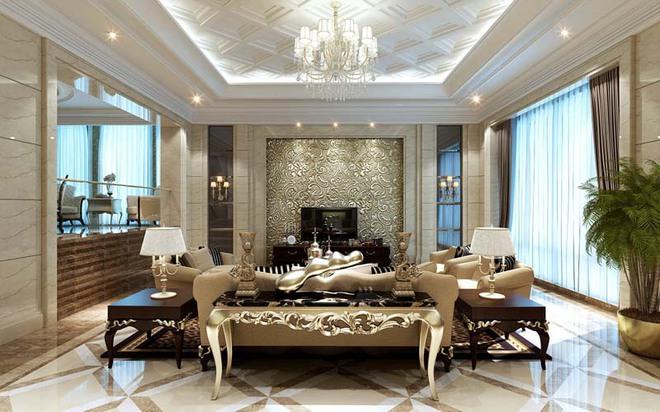 Choáng ngợp trước vẻ đẹp sang chảnh của những phòng khách mang phong cách Baroque - Ảnh 8.