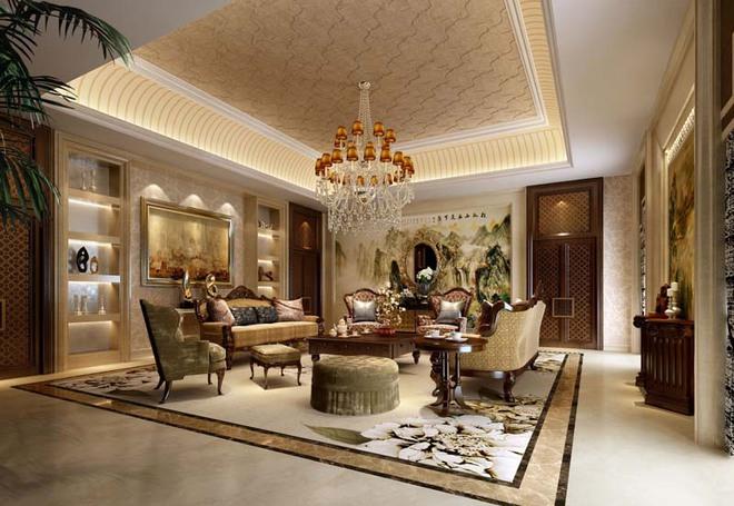 Choáng ngợp trước vẻ đẹp sang chảnh của những phòng khách mang phong cách Baroque - Ảnh 10.
