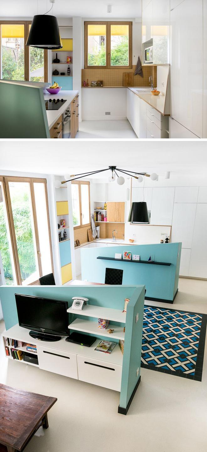 Những căn bếp nhỏ đẹp tới mức bạn sẵn sàng bỏ bếp rộng để được ở trong không gian này - Ảnh 4.