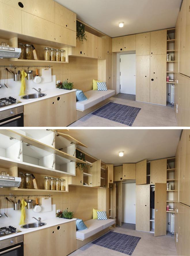 Những căn bếp nhỏ đẹp tới mức bạn sẵn sàng bỏ bếp rộng để được ở trong không gian này - Ảnh 5.