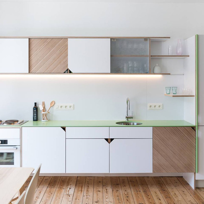 Những căn bếp nhỏ đẹp tới mức bạn sẵn sàng bỏ bếp rộng để được ở trong không gian này - Ảnh 11.