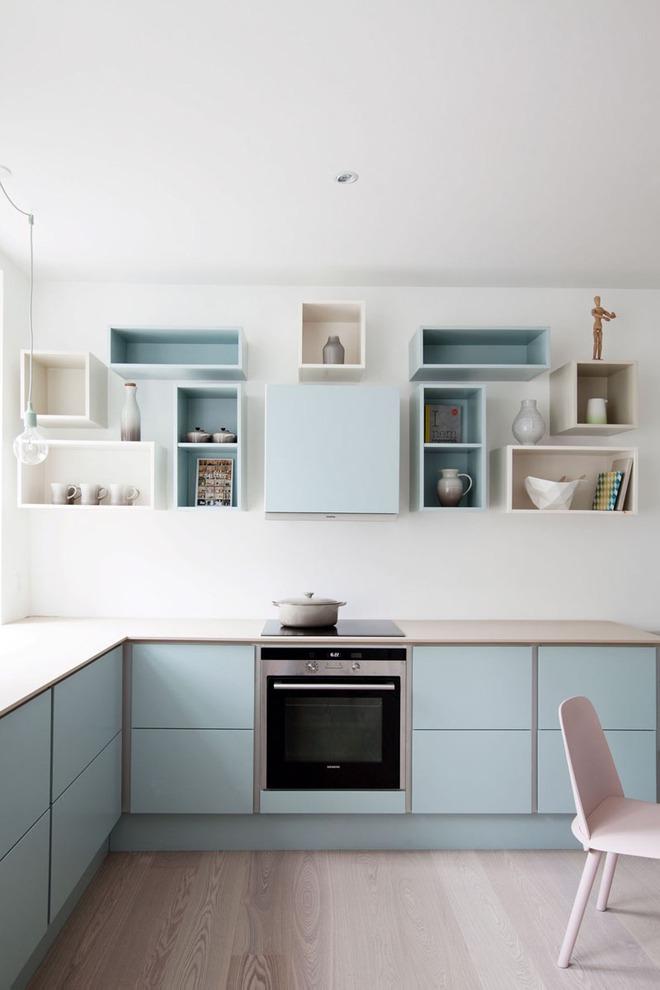 Những căn bếp nhỏ đẹp tới mức bạn sẵn sàng bỏ bếp rộng để được ở trong không gian này - Ảnh 13.