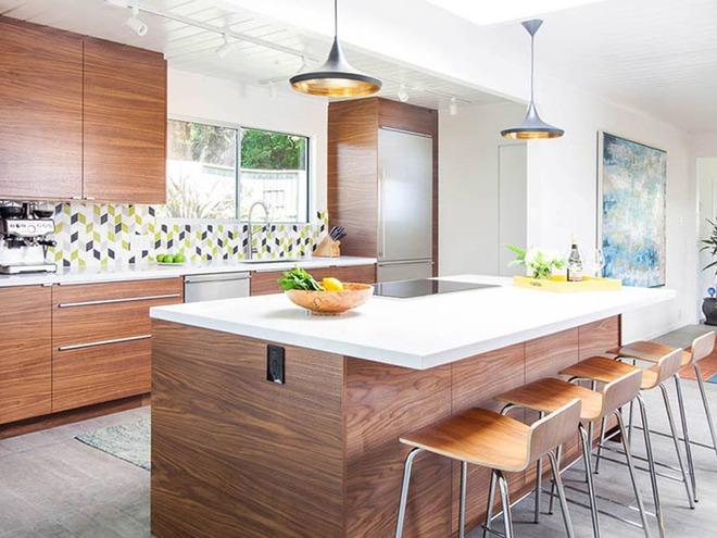 Chỉ nhờ một yếu tố nhỏ này thôi mà căn bếp gia đình trông đẹp hơn gấp mấy phần - Ảnh 4.