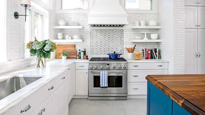 Chỉ nhờ một yếu tố nhỏ này thôi mà căn bếp gia đình trông đẹp hơn gấp mấy phần - Ảnh 5.