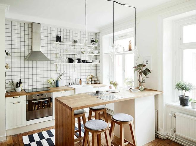 Chỉ nhờ một yếu tố nhỏ này thôi mà căn bếp gia đình trông đẹp hơn gấp mấy phần - Ảnh 8.