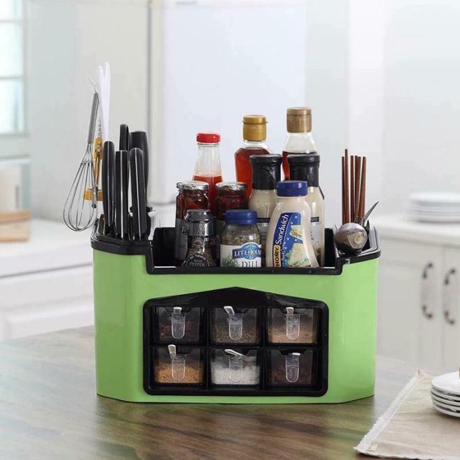 9 mẫu hộp đựng gia vị đa năng cho nhà bếp gọn xinh với giá thành chưa đến 300 nghìn đồng - Ảnh 1.