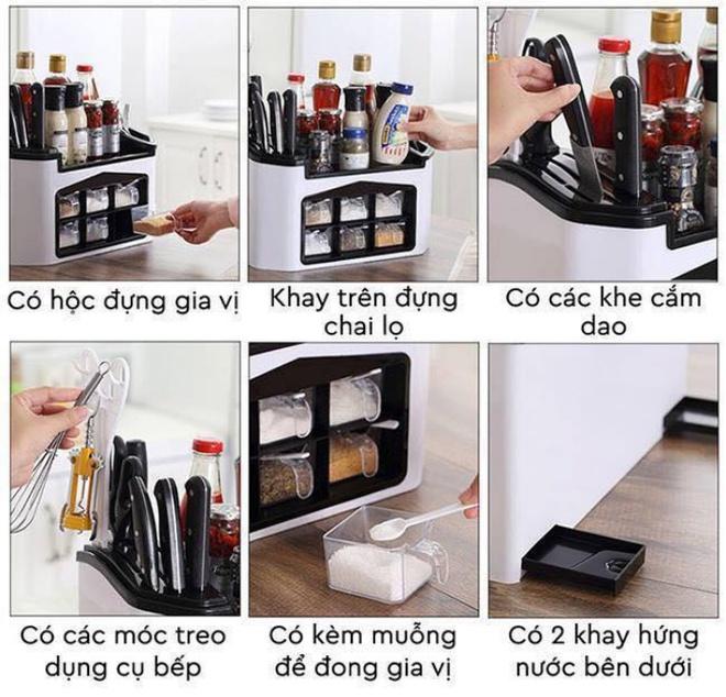 9 mẫu hộp đựng gia vị đa năng cho nhà bếp gọn xinh với giá thành chưa đến 300 nghìn đồng - Ảnh 4.