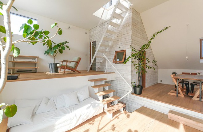 Ngôi nhà phố 43m² đẹp thanh bình với sân vườn xanh mát cây cỏ của gia đình trẻ ở ngay thủ đô Tokyo, Nhật Bản - Ảnh 3.