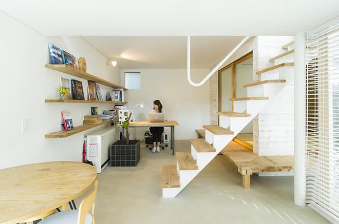 Ngôi nhà phố 43m² đẹp thanh bình với sân vườn xanh mát cây cỏ của gia đình trẻ ở ngay thủ đô Tokyo, Nhật Bản - Ảnh 6.
