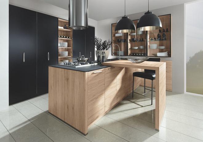 Sử dụng màu đen trong trang trí bếp: Kết quả vừa sạch vừa đẹp đến khó tin - Ảnh 1.
