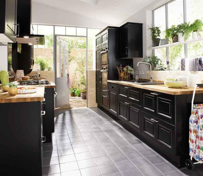 Sử dụng màu đen trong trang trí bếp: Kết quả vừa sạch vừa đẹp đến khó tin - Ảnh 5.