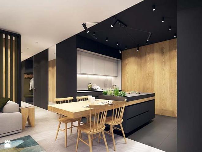 Sử dụng màu đen trong trang trí bếp: Kết quả vừa sạch vừa đẹp đến khó tin - Ảnh 14.