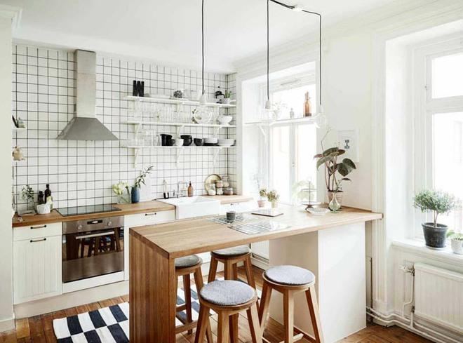 Muốn căn bếp gia đình thật xinh thì nhất định không được đặt linh tinh mọi thứ - Ảnh 1.