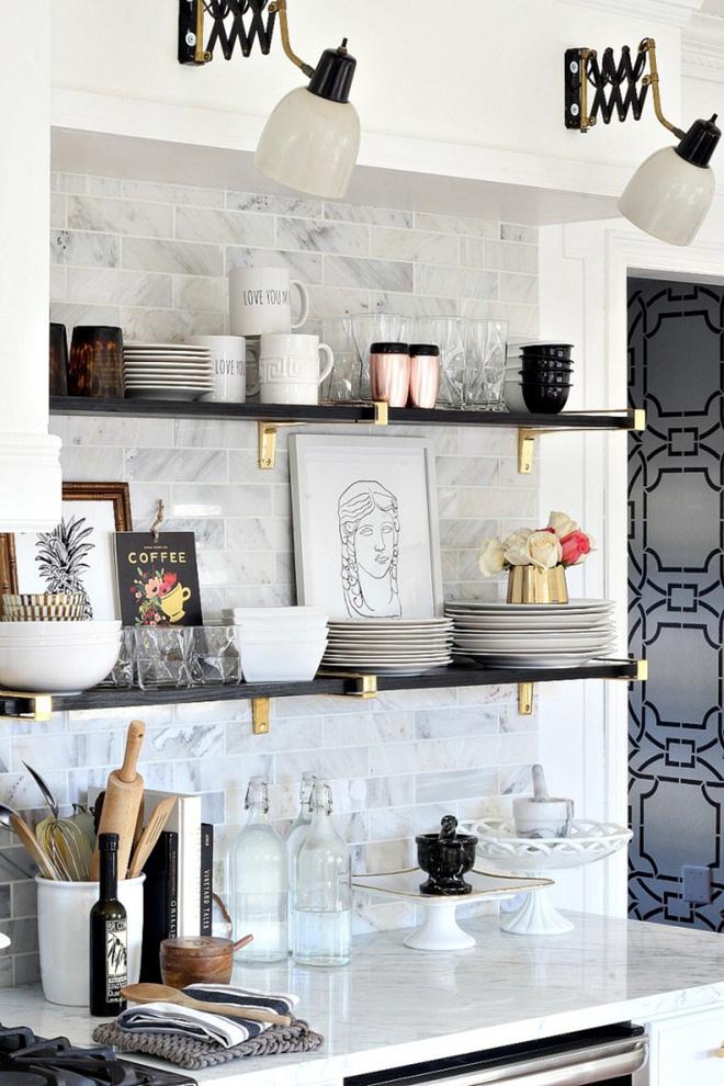 Muốn căn bếp gia đình thật xinh thì nhất định không được đặt linh tinh mọi thứ - Ảnh 2.