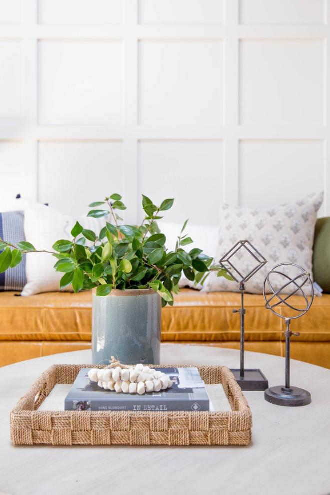 Những kiểu bàn cà phê lạ mắt điểm tô nét độc đáo cho phòng khách - Ảnh 3.