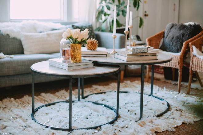 Những kiểu bàn cà phê lạ mắt điểm tô nét độc đáo cho phòng khách - Ảnh 11.