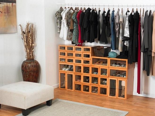 Không gian tưởng chừng như vô dụng dưới đây lại có thể trở thành tủ quần áo chỉ trong vài nốt nhạc - Ảnh 4.