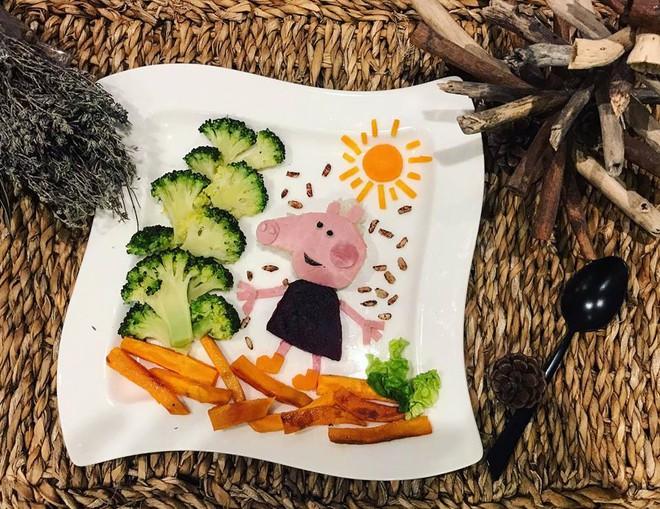 Mẹ Việt ở Pháp trang trí bữa ăn cho con chẳng khác gì những tác phẩm nghệ thuật đỉnh cao - Ảnh 2.