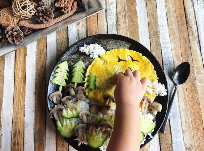 Mẹ Việt ở Pháp trang trí bữa ăn cho con chẳng khác gì những tác phẩm nghệ thuật đỉnh cao - Ảnh 6.