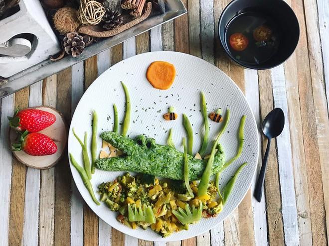 Mẹ Việt ở Pháp trang trí bữa ăn cho con chẳng khác gì những tác phẩm nghệ thuật đỉnh cao - Ảnh 11.