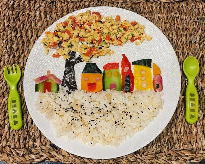 Mẹ Việt ở Pháp trang trí bữa ăn cho con chẳng khác gì những tác phẩm nghệ thuật đỉnh cao - Ảnh 12.