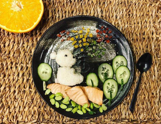 Mẹ Việt ở Pháp trang trí bữa ăn cho con chẳng khác gì những tác phẩm nghệ thuật đỉnh cao - Ảnh 14.