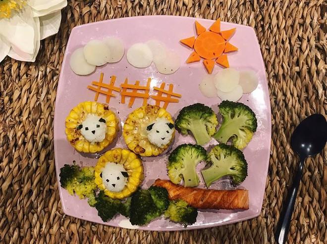 Mẹ Việt ở Pháp trang trí bữa ăn cho con chẳng khác gì những tác phẩm nghệ thuật đỉnh cao - Ảnh 18.