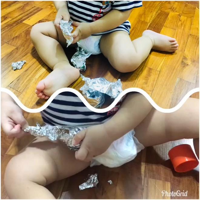 Gặp bà mẹ siêu sáng tạo hay gom rác chơi với con, lợi đủ trăm đường mà không tốn mấy đồng mua đồ chơi - Ảnh 5.