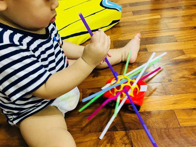 Gặp bà mẹ siêu sáng tạo hay gom rác chơi với con, lợi đủ trăm đường mà không tốn mấy đồng mua đồ chơi - Ảnh 20.