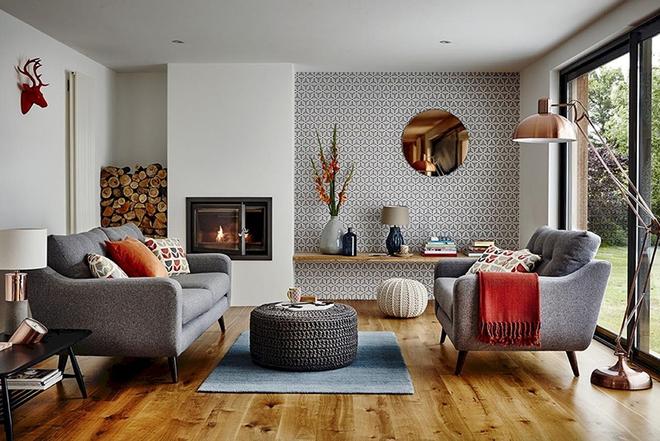 Ngây ngất trước vẻ đẹp của những phòng khách mang phong cách midcentury hiện đại nhưng vô cùng ấm cúng - Ảnh 3.