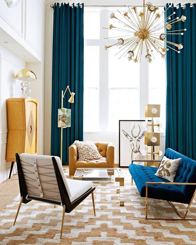 Ngây ngất trước vẻ đẹp của những phòng khách mang phong cách midcentury hiện đại nhưng vô cùng ấm cúng - Ảnh 4.