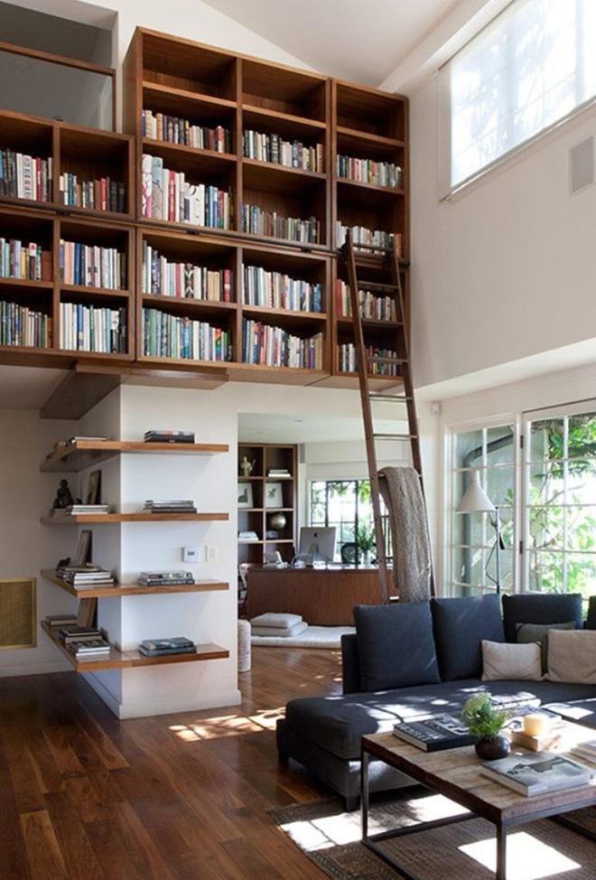 Mục sở thị căn phòng khách của những mọt sách chân chính xem có gì lạ, có gì hay - Ảnh 6.